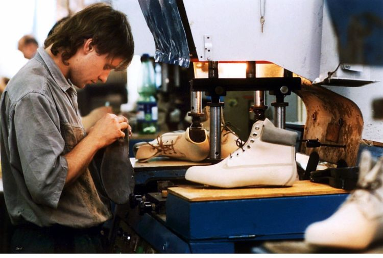 Tschechische Republik - Schuhproduktion